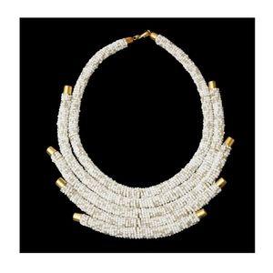 Jewelry - White Zulu Maasai Necklace